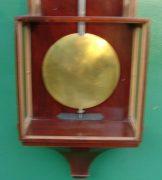 HUSSNIK-JANOS-MONTH-GOING-LATERNDLUHR-VIENNA-REGULATOR-WALL-CLOCK-1830c-282987658676-6