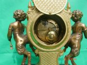 IMPERIAL-ITALIAN-CANDELABARAS-GARNITURE-BRONZE-CHERUB-8-DAY-ORMOLU-LYRE-CLOCK-283752984226-11