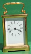 ANTIQUE-FRENCH-COUAILLET-FRERES-8-DAY-TIME-PIECE-CORNICHE-CARRIAGE-CLOCK-283181258167