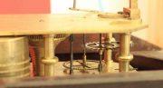 J-F-RAMSLEY-SONS-ENGLISH-FLAME-MAHOGANY-8-DAY-FUSEE-12-CONVEX-DROP-DIAL-CLOCK-283468442677-11