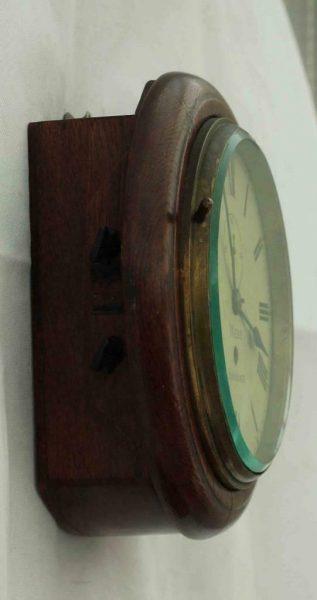 RARE-MINIATURE-ANTIQUE-ENGLISH-MAHOGANY-8-DAY-7-FUSEE-DIAL-CLOCK-WEBB-SANDGATE-283409829557-5