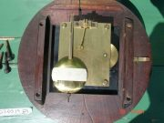WWII-GEORGE-VI-GPO-8-DAY-ENGLISH-MAHOGANY-FUSEE-DIAL-CLOCK-283569702217-6