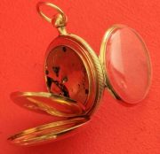 18K-GOLD-ANTIQUE-ENGLISH-QUARTER-REPEATER-L-MARKS-LIVERPOOL-GENTS-POCKET-WATCH-283538374008-10