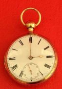 18K-GOLD-ANTIQUE-ENGLISH-QUARTER-REPEATER-L-MARKS-LIVERPOOL-GENTS-POCKET-WATCH-283538374008