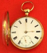 18K-GOLD-ANTIQUE-ENGLISH-QUARTER-REPEATER-L-MARKS-LIVERPOOL-GENTS-POCKET-WATCH-283538374008-2