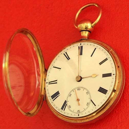 18K-GOLD-ANTIQUE-ENGLISH-QUARTER-REPEATER-L-MARKS-LIVERPOOL-GENTS-POCKET-WATCH-283538374008-3