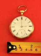 18K-GOLD-ANTIQUE-ENGLISH-QUARTER-REPEATER-L-MARKS-LIVERPOOL-GENTS-POCKET-WATCH-283538374008-4
