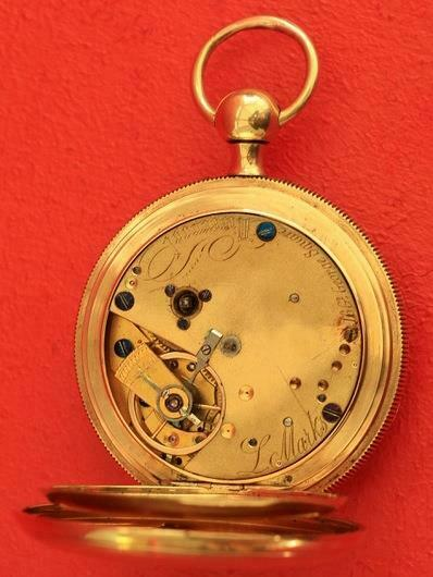 18K-GOLD-ANTIQUE-ENGLISH-QUARTER-REPEATER-L-MARKS-LIVERPOOL-GENTS-POCKET-WATCH-283538374008-8