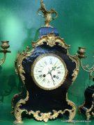 ANTIQUE-JAPY-FRERES-8-DAY-ORMOLU-ROCOCO-BOULLE-TYPE-CANDELLABRAS-CLOCK-SET-1880c-282542779948-2