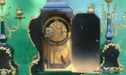 ANTIQUE-JAPY-FRERES-8-DAY-ORMOLU-ROCOCO-BOULLE-TYPE-CANDELLABRAS-CLOCK-SET-1880c-282542779948-7