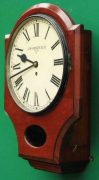 J-MCKENZIE-ANTIQUE-8-DAY-FUSEE-12-DROP-DIAL-MAHOGANY-GALLERY-CASE-WALL-CLOCK-283468465378-4