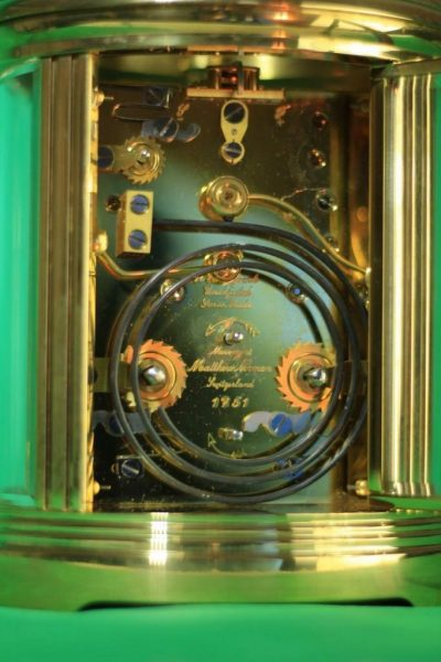 SWISS-MATHEW-NORMAN-1751-GRANDE-OVAL-STRIKING-REPEATER-ALARM-CARRIAGE-CLOCK-283286773128-3