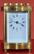 VINTAGE-FRENCH-LEPEE-8-DAY-DOUCINE-SERPENTINE-TIMEPIECE-CARRIAGE-CLOCK-283324895138-2