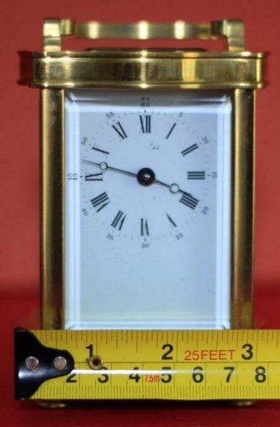 VINTAGE-FRENCH-LEPEE-8-DAY-DOUCINE-SERPENTINE-TIMEPIECE-CARRIAGE-CLOCK-283324895138-3