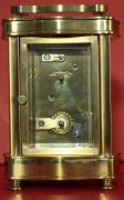 VINTAGE-FRENCH-LEPEE-8-DAY-DOUCINE-SERPENTINE-TIMEPIECE-CARRIAGE-CLOCK-283324895138-4