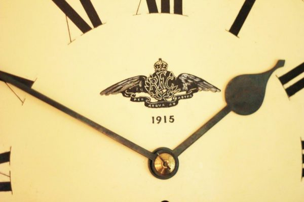 WWI-1915-ROYAL-FLYING-CORPS-8-DAY-FUSEE-DIAL-CLOCK-PER-ARDUA-AD-ASTRA-283366702408-2