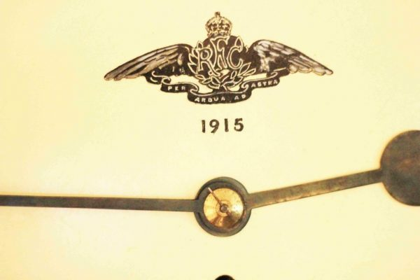 WWI-1915-ROYAL-FLYING-CORPS-8-DAY-FUSEE-DIAL-CLOCK-PER-ARDUA-AD-ASTRA-283366702408-3