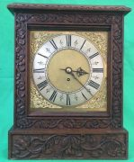 ANTIQUE-8-DAY-FUSEE-BRACKET-CLOCK-WITH-TUDOR-STYLE-CASE-AND-ROCOCO-SPANDRELS-283578595769-2