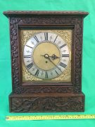 ANTIQUE-8-DAY-FUSEE-BRACKET-CLOCK-WITH-TUDOR-STYLE-CASE-AND-ROCOCO-SPANDRELS-283578595769-9