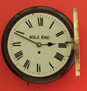 ANTIQUE-ENGLISH-MAHOGANY-8-DAY-FUSEE-10-DIAL-CLOCK-SIGNED-MILE-END-283397327759-4