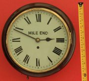 ANTIQUE-ENGLISH-MAHOGANY-8-DAY-FUSEE-10-DIAL-CLOCK-SIGNED-MILE-END-283397327759-5