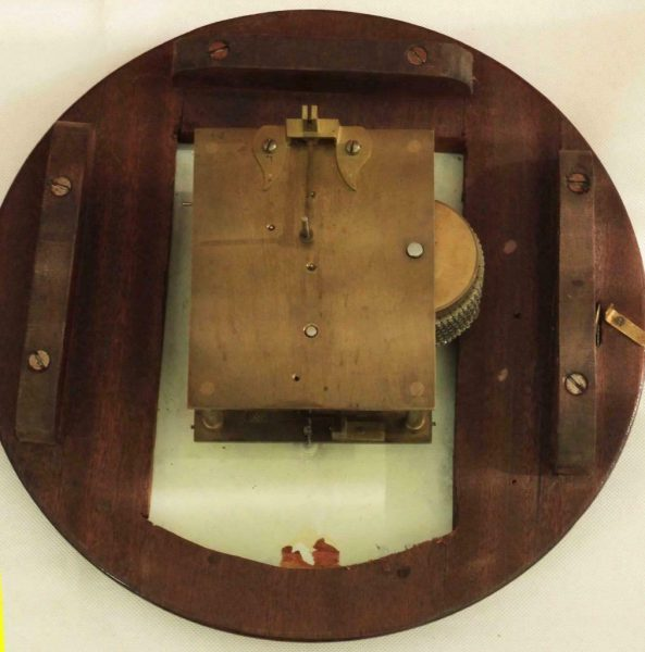 ANTIQUE-ENGLISH-MAHOGANY-8-DAY-FUSEE-10-DIAL-CLOCK-SIGNED-MILE-END-283397327759-6