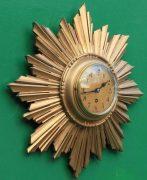 ENGLISH-ART-DECO-8-DAY-GOLD-GILT-SUNBURST-WALL-CLOCK-283298139849-3