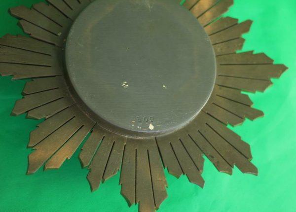 ENGLISH-ART-DECO-8-DAY-GOLD-GILT-SUNBURST-WALL-CLOCK-283298139849-8